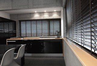 Horizontaal-houten jaloezie Woonintex